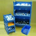 Steel Bins and Tote Boxes