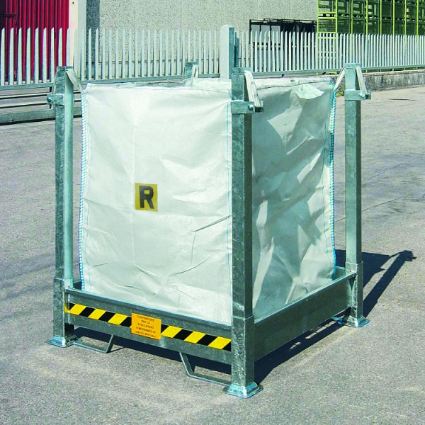 Demountable Holder Rack for Bulk Bags - Steps and Stillages