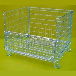 Folding Wire Pallet Cages