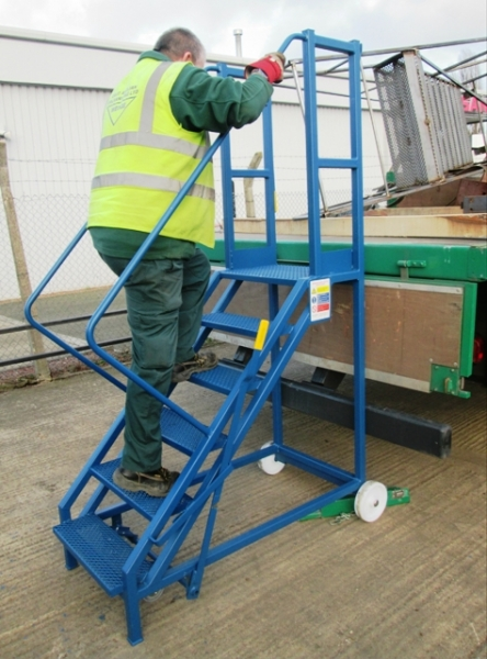 Hercules Lorry Access Mobile Safety Steps Steps And