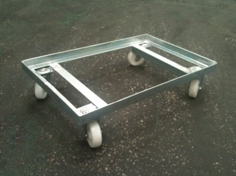 Metal Tote Box Dolly Steps And Stillages