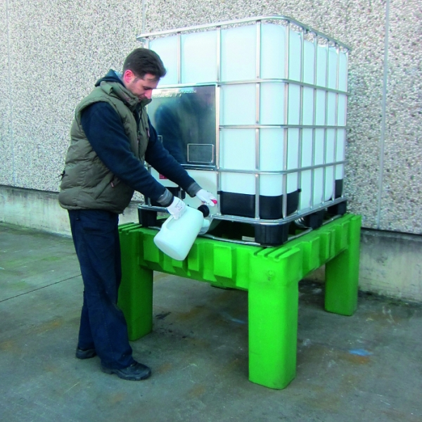 Polyethylene Ibc Support Stand Steps And Stillages