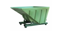 Roll Forward Plastic Tipping Skip