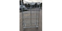 4 Sided 4 Shelf Trolley