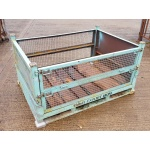 Used Second Hand Blue Mesh Steel Stillage