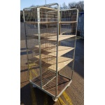 Used 4 shelf Roll Cage