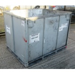 Second Hand Sheet Steel Demountable Pallet Boxes