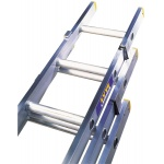Trade Aluminium Extension Ladder 3 Section
