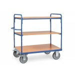Heavy Duty 3 Shelf Trolley