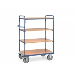 Heavy Duty 4 Shelf Trolley