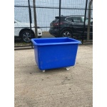 Used Plastic Roll Top Bin Large