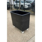 Used Plastic Roll Top Bin Small