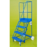 Mobile 4 Step Ladder
