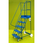 Mobile step 5 step ladder