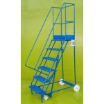 Mobile steps 6 step ladder