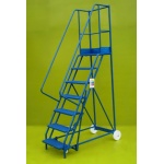 Mobile steps 7 step ladder