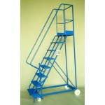 Mobile steps 8 step ladder