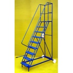 Mobile warehouse budget 9 step ladders