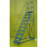 Mobile steps budget 10 step ladder