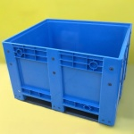 Plastic Pallet Box Blue