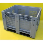 Plastic Pallet Box Vented Sides
