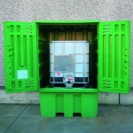 Polyethylene Storage Cabinet with sump for IBC