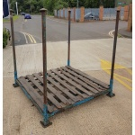 Second Hand Large Post Pallet with Posts -Sq foot