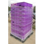 Purple Stacking Boxes
