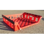 Second Hand Red Mesh Plastic Box