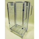 4 Sided Merchandising Roll Cage Trolley for General Purpose
