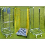 Roll Pallets and Nesting Roll Cages