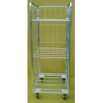 3 Sided Demountable Cage