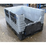 Second Hand Jumbo Folding Pallet Box -M33a