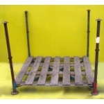 Second Hand Large Post Pallet with Posts -Deep1