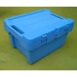 Used Security Plastic Tote Box