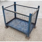 Used Mesh Stillage with Fixed Sides 719T