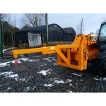 Telescopic Extending Lifting Jib for Telehandler with shackle