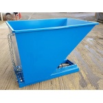 TS110 Tipping Skip for Fork Lifts - 1030 Litre