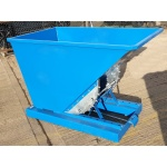 TS60 Tipping Skip for Fork Lifts - 520 Litre