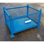 Second Hand Mesh Steel Stillage Full Front