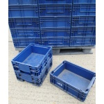 Used Plastic Stacking Box