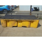 used-plastic-yellow-double-sump