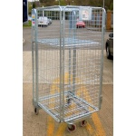 Second Hand Full Security A Frame Roll Pallet with shelf