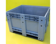 Plastic Pallet Box Grey