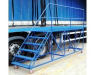 Trailer Side Access Mobile Platform with steps - 3m