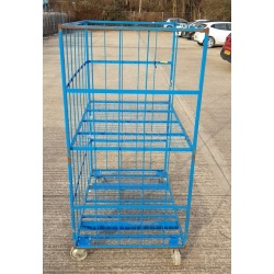 Second Hand Mesh Warehouse Trolley
