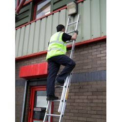 Extension Ladder in Use