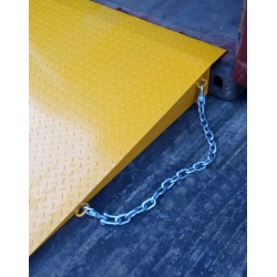 Shipping Container Ramp security chains