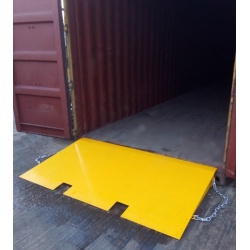 Shipping Container Ramp for Forklifts