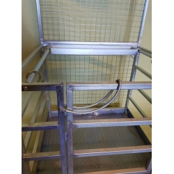 Forklift Budget Safety Access Cage gate